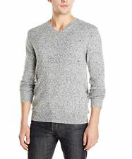 NWT French Connection Men's Alfa Knits V-Neck Sweater 58EBG GREY S-XL