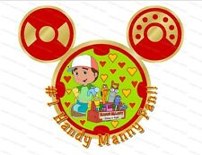 Disney Handy Manny personalized iron on transfer (choice of 1)