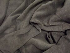 QUALITY Anti Pil Polar Fleece Fabric Material - CHARCOAL