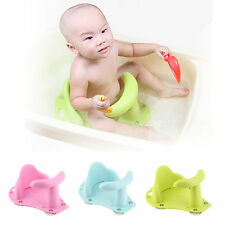 New Baby Bath Tub Ring Seat Infant Child Toddler Kids Anti Slip Safety Chair EBE