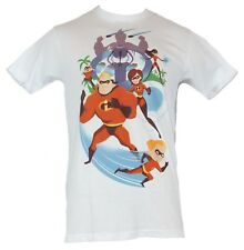 The Incredibles Mens T-Shirt - Battle Ready Stylized Action Battle Ready Family
