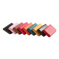 New Pocket PU Leather Business ID Credit Card Holder Case Wallet ZP
