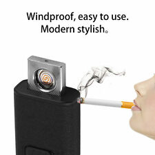 Windproof Charging Double-Sided Lighter  Personality USB Cigarette Lighter BE
