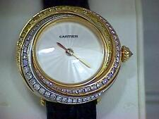 Ladies 18ct Gold Cartier Trinity Watch
