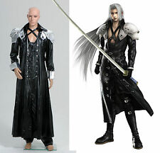 Final Fantasy ff VII 7 Sephiroth Uniform Outfit Cosplay Costume Halloween