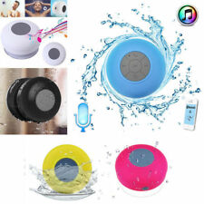 Bluetooth Wireless Stereo Speaker Waterproof Handsfree Music Suction For Shower