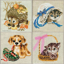 NEW UNOPENED Russian mini Counted Cross Stitch KIT Riolis Baby Animals CUBs