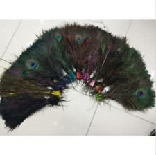 Wholesale beautiful peacock feathers 10-12 inch / 25-30 cm free shipping