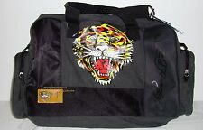 ED HARDY TIGER DESIGN DUFFLE WEEKENDER GYM OR OVERNIGHT TRAVEL BAG