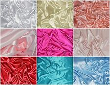 Charmeuse Stretch Satin Spandex apparel curtains backdrops wedding 35 yard roll