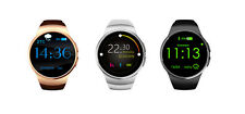 """Fashion KW18 1.3"""" Smart Watch Bluetooth SIM TF Card GSM Mate For IOS Android K8"""