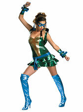 Leonardo Leo TMNT Sexy Teenage Mutant Ninja Turtles Superhero Women Costume