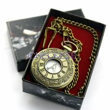 1pcs Assassins Creed Connor Pocket Watch Game Accessories Gift  Coppery