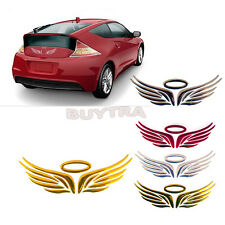 3D Angel Fairy Wings Car Auto Truck Logo Emblem Badge Decal Sticker 3 Colors TO