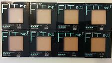 MAYBELLINE Fit Me Matte Poreless Pressed Powder Normal to Oily, Makeup U choose