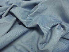 Cotton CORDUROY Fabric Material 11 Wale - PALE BLUE