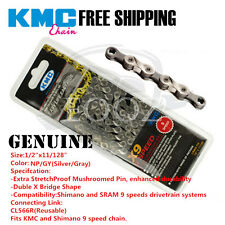 KMC MTB Road bicycle chain X9 X9SL 9 speed for Shimano Campagnolo and SRAM