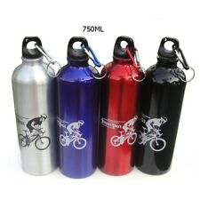 Sport Cycling bottle Aluminium 500ML 750ML Hiking Flask Water Drink with keyring