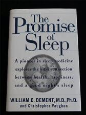 The Promise of Sleep, William Dement, 1999 First Edition, LNC HC & DJ, Free Ship