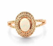 925 Sterling Silver Ring with Opal Oval Shape Natural Gemstone Handmade eBay.