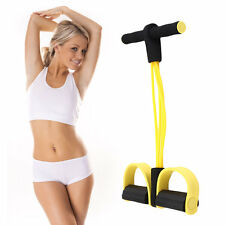 Four Elastic Band Fitness Resistance Exercise Equipment for Yoga Workout BA