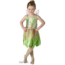 Childs Disney Tinker Bell Girls Peter Pan Fancy Dress Costume Outfit 620690
