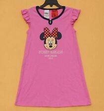 2017 Little Girls Dress Toddler Minnie Mouse Sleepwear Pajamas PJ Nigtgown 5 6 7