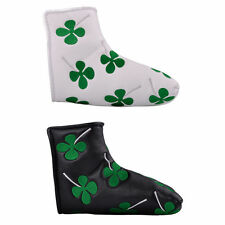 Golf Blade Putter Cover Headcover Clover Head Cover for Titleist Ping Callaway