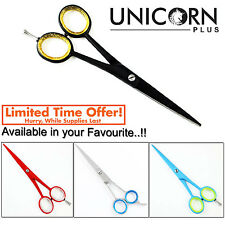 """6"""" Professional Barber Hairdressing Hair Cutting Scissors Shears Bright Colors"""