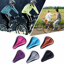 Silica Gel Bike Seat Bicycle Saddle Mat Comfortable Cushion Seat Cover A34 BG