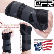 Pair Wrist Brace Hand Support Splint For Metal Carpal Tunnel Arthritis Sprain UD