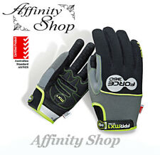 8 pairs Force360 MX1 Mechanic Gloves FPRMX1 Mechanics Work Glove Velcro Any Size
