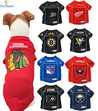 NHL Pet Fan Gear Jersey Shirt Tee for Dog Dogs PICK YOUR TEAM
