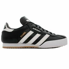 Adidas Samba Black Mens Lace Up Trainers All Sizes New