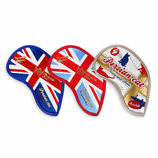Golf iron Head Covers Club covers Persian Cat Blue Sky Blue White