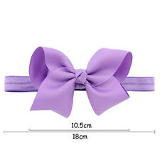Flower Hairband Bow Soft knot Hair Accessories Elastic Band Headband 1Pcs Baby
