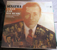 Sinatra, A Man And His Music A Double Album Set! VG++