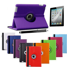 Leather 360° Degree Rotating Smart Stand Case Cover For iPad Air 1 2 3 4 Mini
