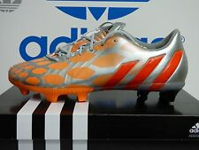 NEW ADIDAS Predator Instinct FG Women's Soccer Cleats - Silver/Orange;  M18326