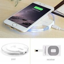 Wireless Charger Universal Qi Pad With Wireless Receiver Included For iPhone 6