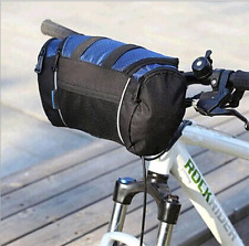 Cycling Bicycle Bike 5L Bag Handlebar Front Tube Pannier Basket Shoulder Pack