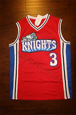 Calvin Cambridge #3 LA Knights Red Basketball Jersey Like Mike Stitched all SIZE