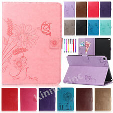 """Smart Pattern Flip Leather Wallet Case Stand Cover For iPad 2 3 4/Pro 9.7""""/Mini"""