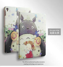1X Flip Smart Leather Totoro Case Cover Stand For iPad/Galaxy/Asus/Huawei Tablet