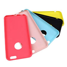 Candy Color Soft Silicon Cover Silica Gel Back Case for Apple iPhone 6/6S