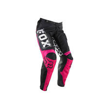 FOX YOUTH GIRLS 180 MX MOTOCROSS PANTS 2014 BLACK PINK