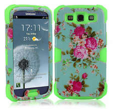 Luminous Glow in Dark Shockproof Hard Soft Case Cover For Samsung Galaxy S3 SIII