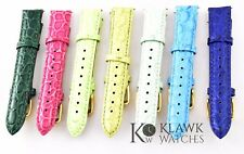 Invicta Women's Geuine Leather Watch Band - 18 mm Watch Band Leather Strap