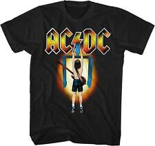 ACDC Flick The Switch Malcolm Angus Young Classic Rock Band Guitarist T-Shirt