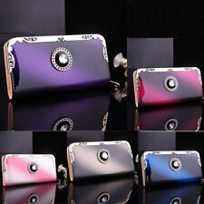 Fashion Women Lady Leather Zip Clutch Wallet Long Card Holder Purse US Location